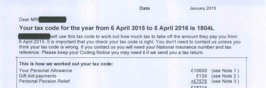Hmrc archives huston and co tax codes explained are you on the wrong tax code negle Image collections